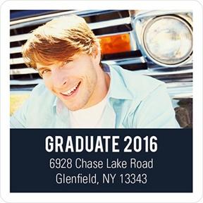 Class Cutout -- Graduation Address Labels