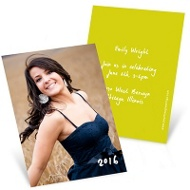InstaInvite Mini Graduation Announcements