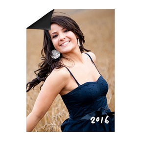 InstaInvite Photo Magnet -- Mini Graduation Announcements