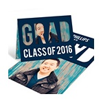 Grad Cutout Horizontal -- Graduation Announcements & Invitations