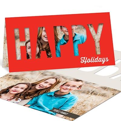 Happy Holidays Photo Christmas Cards