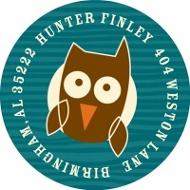 Night Owl Address Labels