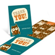 Night Owl --�Thank You Cards