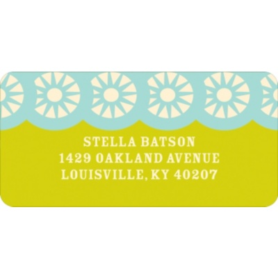 Peak A Boo Owl Address Labels