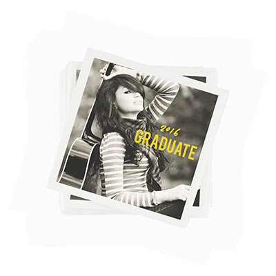 Make Your Mark -- Graduation Napkins