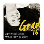 Make Your Mark -- Graduation Address Labels