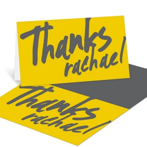 Make Your Mark -- Graduation Thank You Cards
