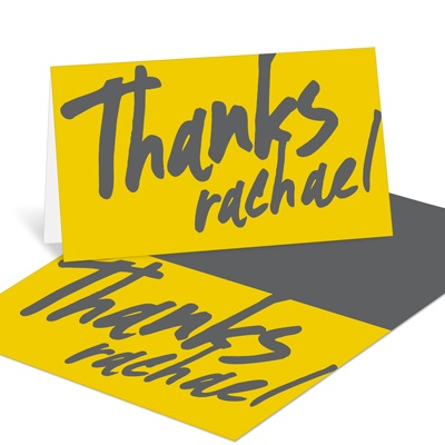 Make Your Mark Graduation Thank You Cards