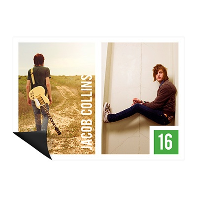 Duo Photo Magnet -- Profile Cards