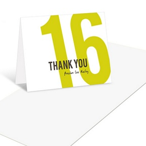 What Year Is It -- Graduation Thank You Cards
