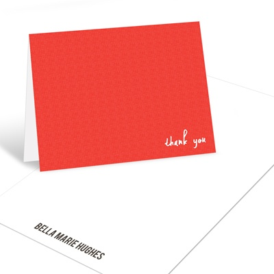 Simple Thanks Graduation Thank You Cards