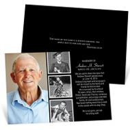 Looking Back In Color Memorial Cards