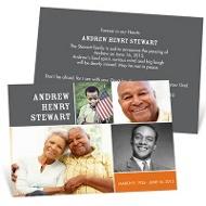 Memory Blocks Memorial Cards