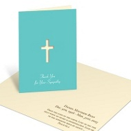 A Life Well Lived Thank You Card Memorial Cards