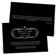 Full Of Grace Memorial Cards