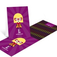 She's A Caped Crusader Thank You Cards