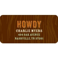 Howdy Partners -- Address Labels