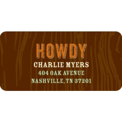 Howdy Partners Address Labels