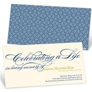 Celebrating A Life Memorial Cards