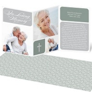 Collage of Memories Memorial Cards