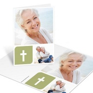 Collage of Memories Thank You Card Memorial Cards