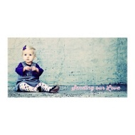 Creative Message Horizontal Photo Paper