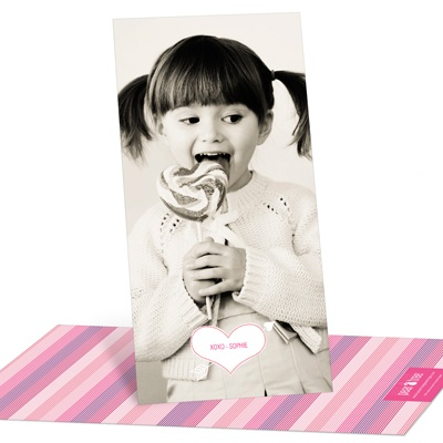Cupid's Arrow Vertical Photo Valentine's Day Photo Cards