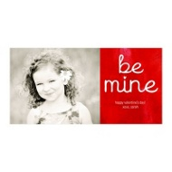 Be Mine Horizontal Photo Paper
