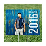 Class Year Horizontal Photo -- Yard Signs