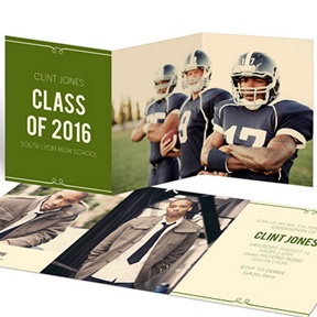 He's Invited -- Graduation Announcements
