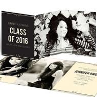She's Invited College Graduation Announcements