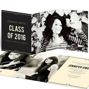 She's Invited -- Graduation Announcements