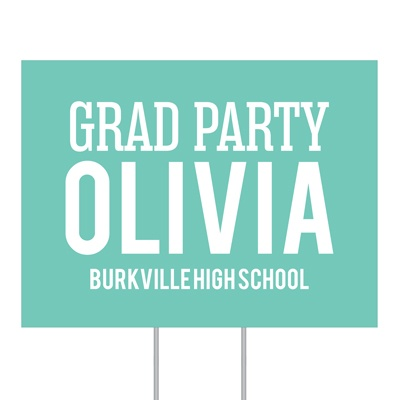 Four Ways To Say It Yard Sign Graduation Party Decorations
