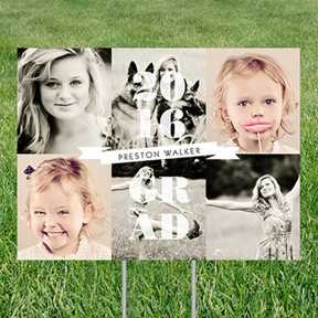 Photo Fun Yard Sign -- Graduation Party Decorations