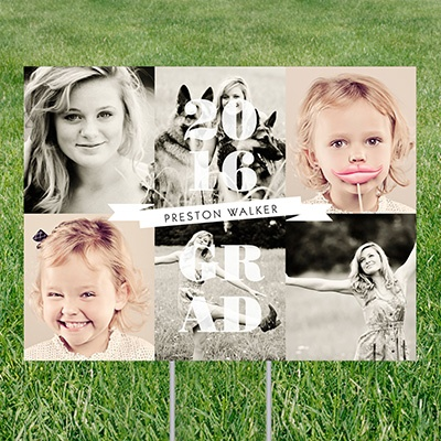 Photo Fun Yard Sign Graduation Party Decorations