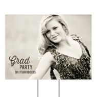 Favorite Photo Yard Sign Graduation Party Decorations