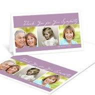 Loving Celebration Thank You Card Memorial Cards