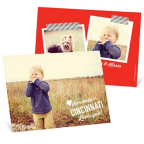 Long Distance Love -- Valentine's Day Photo Cards