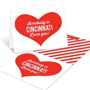 Long Distance Love -- Valentine's Day Cards For Kids