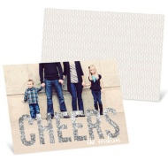 Glitter New Year's Card