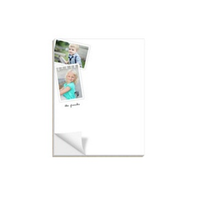 Say It With Pictures -- Custom Notepads