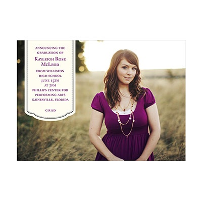 Photo Paper Hanging Banner Graduation Announcements