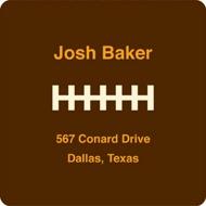 Football Draft Pick Address Labels