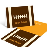 Football Draft Pick Thank You Cards