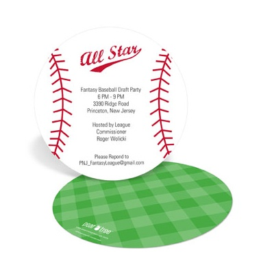 Play Ball Party Invitations