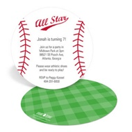 Have A Ball Kids Birthday Invitations