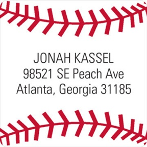 Baseball All Star -- Address Labels