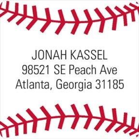 Baseball All Star -- Address Labels