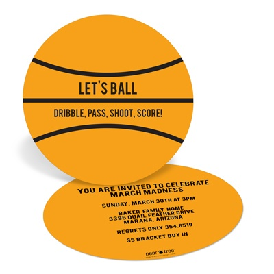 March Madness Party Invitations