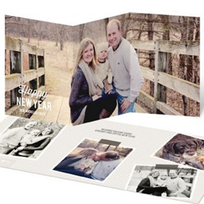 Photogenic Year -- New Year's Photo Cards